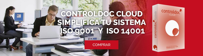 Controldoc Cloud. Simplifica tu sistema ISO 9001 y ISO 14001