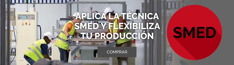 Aplica la técnica SMED y flexibiliza tu producción